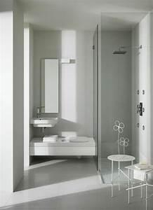 Badezimmergestaltung Ohne Fliesen : kleines bad ideen platzsparende badm bel und viele clevere l sungen ~ Markanthonyermac.com Haus und Dekorationen