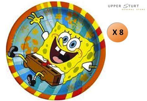 Spongebob Buddies Dinner Plates 8 Pack Upper Sturt
