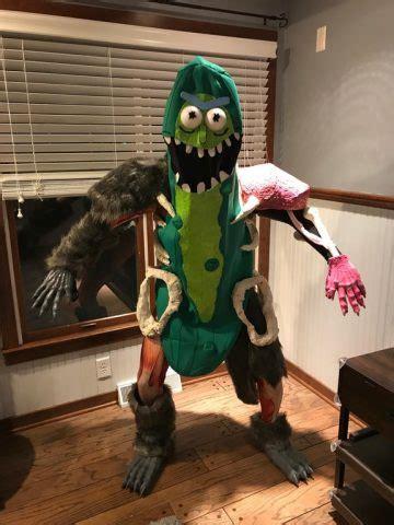 Pickle Rick As a Costume « Adafruit Industries – Makers