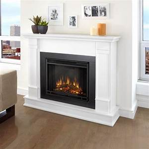 real flame silverton 48 in electric fireplace in white With 3 benefits of choosing modern electric fireplace