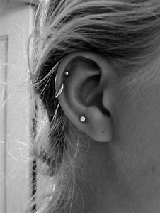 100   Ear Piercings