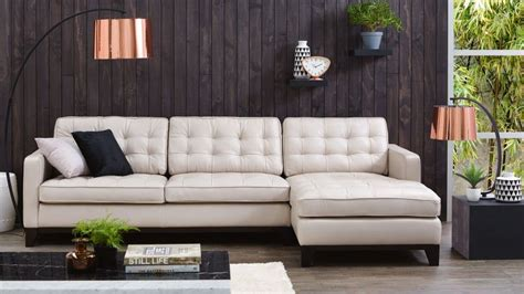 Living Room Lounge Salon by Gilbert 3 Seater Leather Lounge With Chaise Lounges