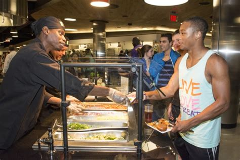 cuisine co residential dining facility features fresh healthy food prepared to order