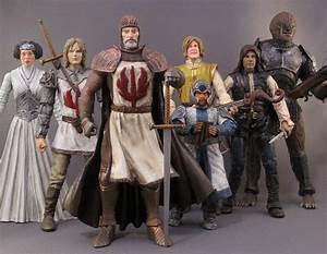 Medieval STAR WARS Custom Made Action Figures GeekTyrant