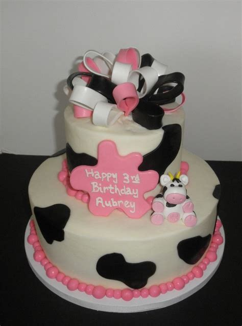 tier cakes   hot pink black white