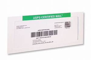 Certified mail automation quick print kit for Mail a letter online usps