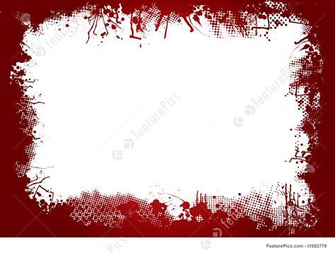 templates blood border stock illustration