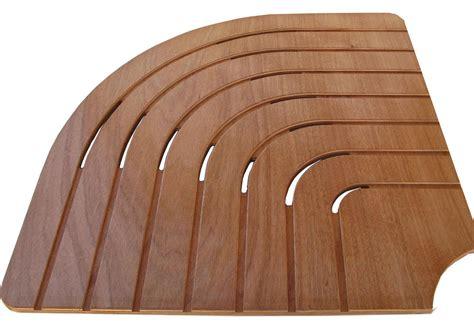 pedana doccia pedana doccia okoume 80 cm per piatto 1 4 di cerchio 90