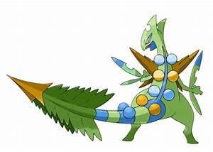 Pokemon Shiny Sceptile Images | Pokemon Images