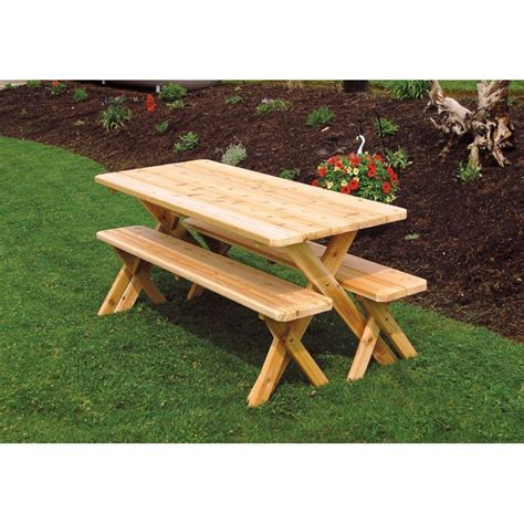 unfinished picnic tables for sale pine 5 39 picnic table a l