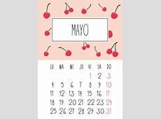 Imágenes de Calendarios mes de Mayo 2016 para imprimir