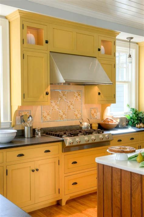 yellow kitchens with white cabinets 17 best images about milk paint on cherries 1988