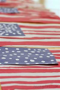 simple american flag craft for housing a forest