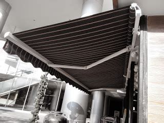 jasa tenda membrane canopy sunbrella awning kain murah  harga jakarta bogor bekasi tangerang