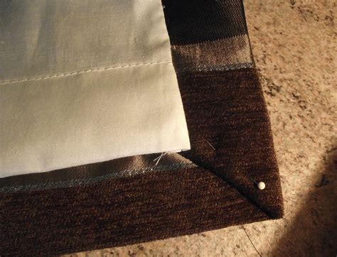 Step 7a Of Our Guide To Making Curtains White Bedroom Curtains Bamboo Fabric Shower Curtain Liner Croscill Extra Long Jcpenney Brown Sheer Soho Grommet Blackout Window Panel For Baby Room Australia By The Yard Blue