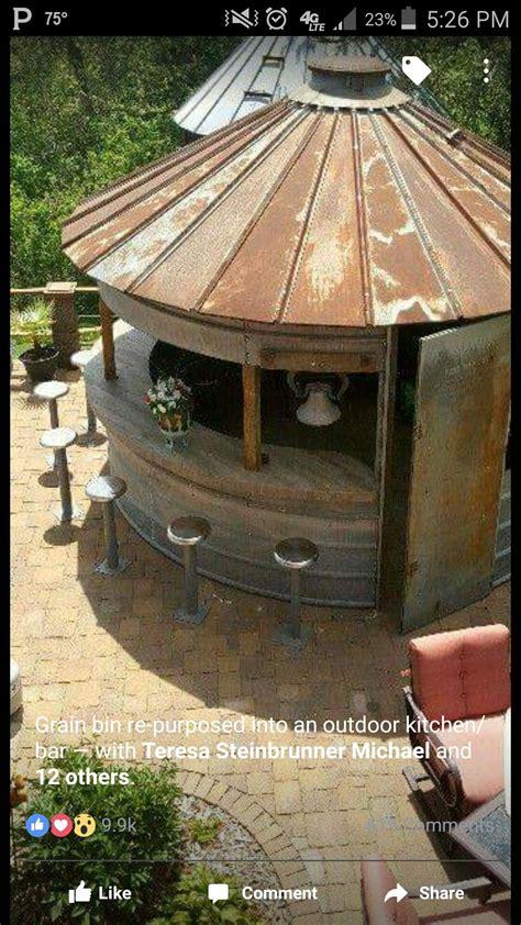 silo bar outdoor ideas outdoor kitchen bars