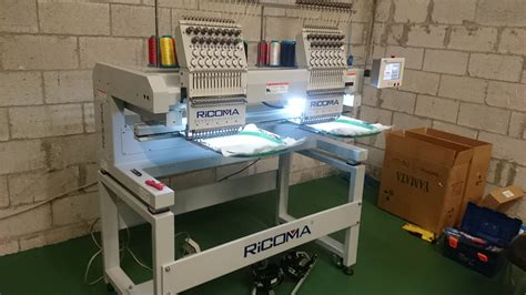 ricoma mt  head commercial embroidery machine