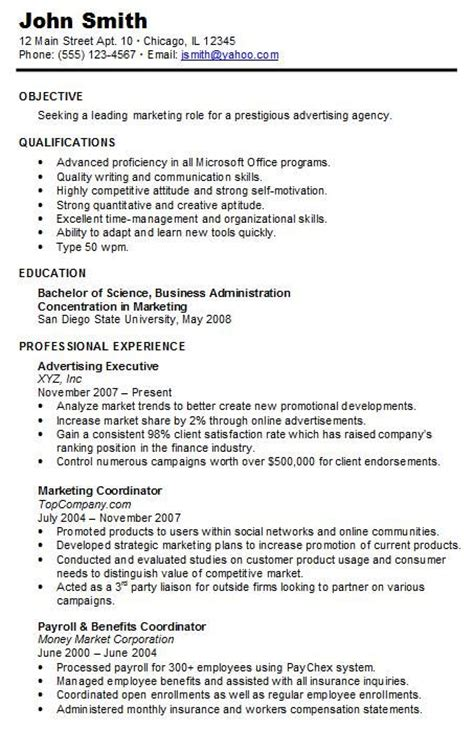 Great Chronological Resume by Best 25 Chronological Resume Template Ideas On