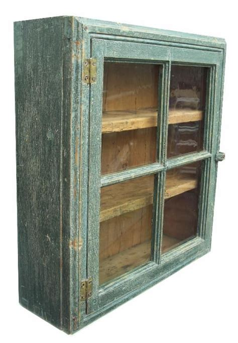 Hanging Wall Cupboards by Blue Hanging Cupboard From Country Treasures Antique