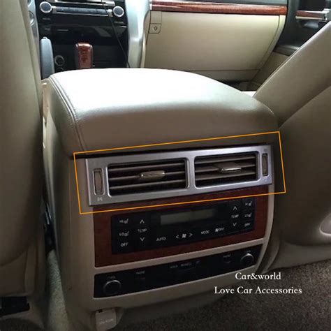 auto air conditioning repair 2010 toyota land cruiser navigation system for toyota land cruiser 200 rear air conditioning ac outlet cover trim interior panel decoration