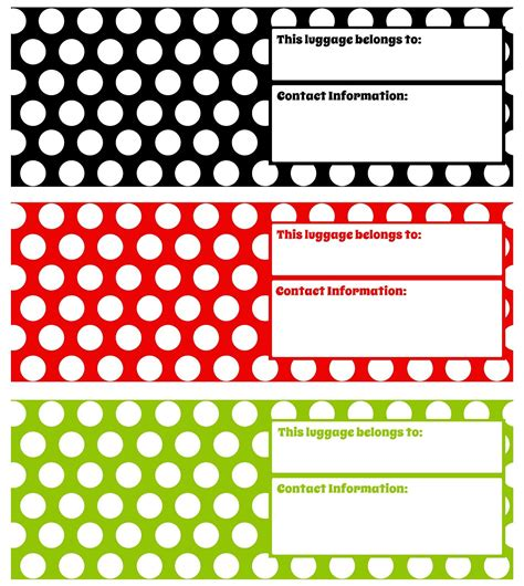 Printable Luggage Tags Images Printable Luggage Tags Black And White Www Pixshark