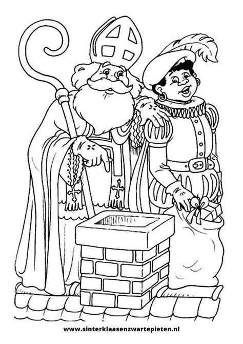 Zwarte Piet Gezicht Kleurplaat by Kleurplaten Sinterklaas A4 Krijg Duizenden Kleurenfoto S