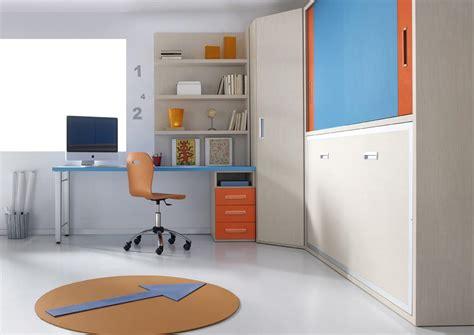 meuble bureau fermé avec tablette rabattable bureau rabattable fashion designs