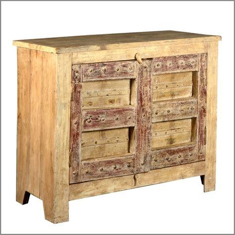 rustic reclaimed wood furniture buffet 2 door