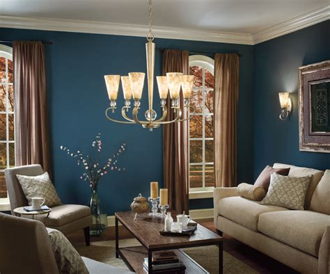 houzz living room lighting roma notte chandelier and wall sconce from kichler