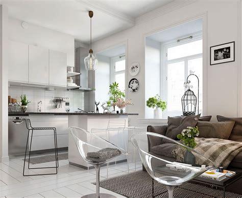 Bright Scandinavian Decor In 3 Small One Bedroom Apartments by Bright Scandinavian Decor In 3 Small One Bedroom