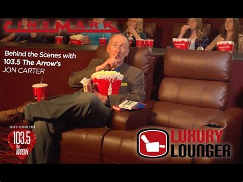 First Look at Cinemark's New Luxury Loungers - YouTube