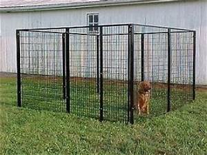 8x16x6h dog run kennel w canvas top outdoor kennels With cheap dog pens for outside