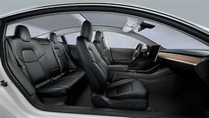 Tesla Model 3 Performance Black Interior
