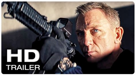JAMES BOND 007 NO TIME TO DIE Trailer #1 Official (NEW ...