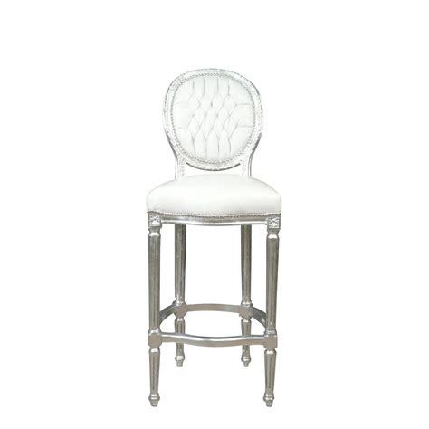 chaises blanche chaise baroque de bar blanche meuble baroque