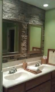 lowes bathroom tile ideas airstone accent wall in bathroom can 39 t wait to do this i saw the demo at lowes and i 39 m
