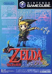The Legend Of Zelda The Wind Waker Box Shot For GameCube