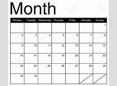 Month To Month Calendars 2018 Calendar Printable