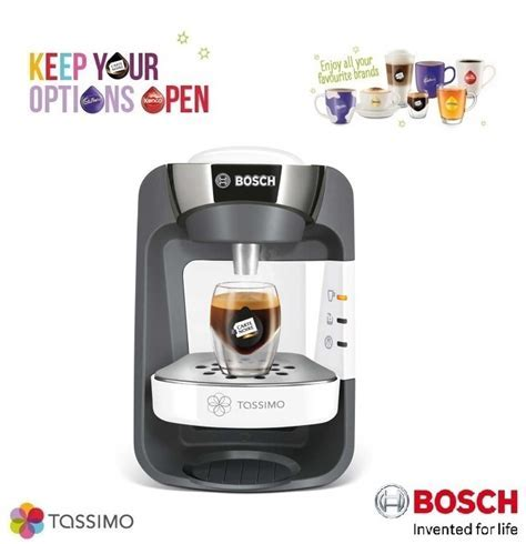 Bosch Tassimo Suny T32 TAS3204GB Multi Drinks Hot & Cold