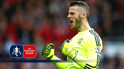 David de Gea Special - Crystal Palace v Man Utd (2015/16 ...