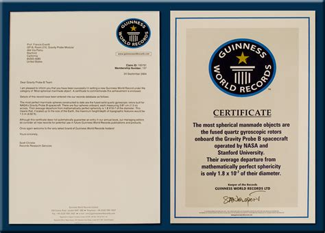 World Record Certificate Template by Principal List Certificate Just B Cause