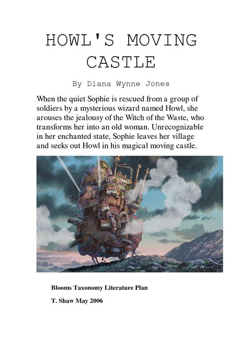 howls moving castle quotes quotesgram