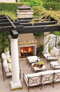 outdoor space design 30 Lovely Mediterranean Outdoor Spaces Designs