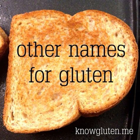 Other Names For by Other Names For Gluten Gluten