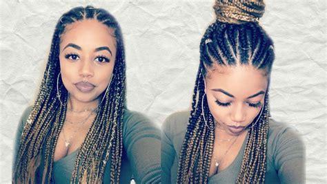 diy fulani inspired braids model model africana braid