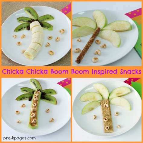 snack for preschool chicka chicka boom boom inspired snacks 256