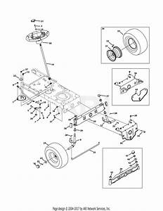 Mtd 13w1762f065  2011  Parts Diagram For Front End Steering