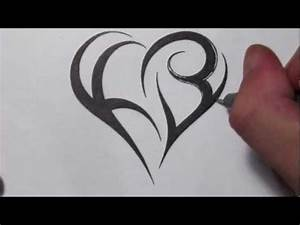 [Full-Download] Letter K And Heart Combined Tattoo Design ...