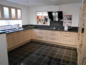 Küche Mit Granitarbeitsplatte : nobilia musterk che landhausk che in eiche san remo ~ Michelbontemps.com Haus und Dekorationen