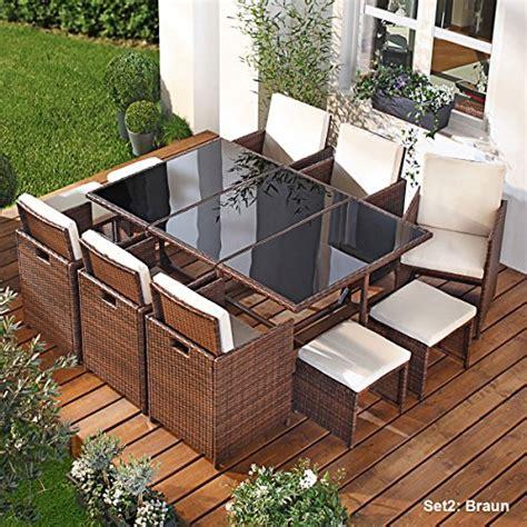 Polyrattan Möbel Garten by Braun Rattan Sets Und Weitere Gartenm 246 Bel G 252 Nstig